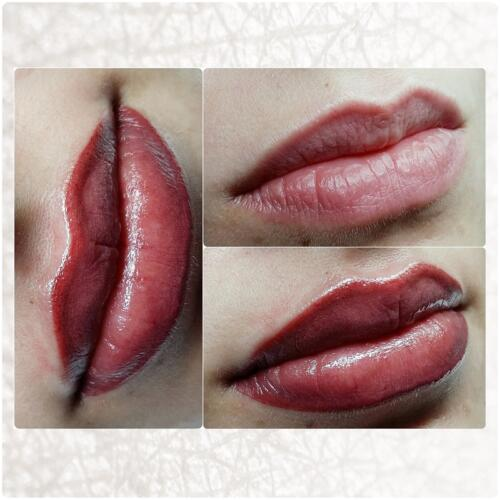 Відновлення кольору губ.